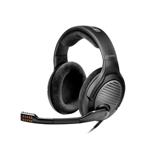 Sennheiser PC 363D USB Surround Sound Gaming Headset schwarz
