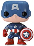 Funko Pop Marvel (Bobble): Avengers - Capt. America