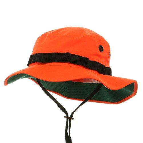 Cheap Oranges  Boonie Hats - Neon Orange W11S42D 4b4d4b31f64