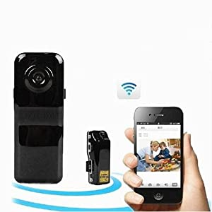 WIFI/IP Mini Pocket-sized 7725 CMOS Spy Camera DVR with TF Slot (iPhone, 3G Phone, Smartphone Supported)
