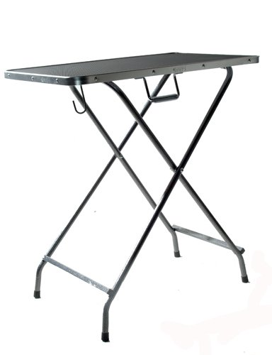 Croft portable dog grooming table with carry bag. Easy to erect