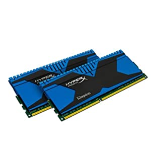 Kingston Technology HyperX Predator 8GB Kit (2x4GB) 2400MHz DDR3 PC3-19200 CL11 DIMM Motherboard Memory XMP T2 Series KHX24C11T2K2/8X