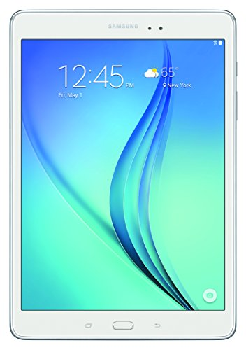 Samsung Galaxy Tab A SM-T550NZWAXAR 9.7-Inch Tablet (16 GB, White) at Electronic-Readers.com