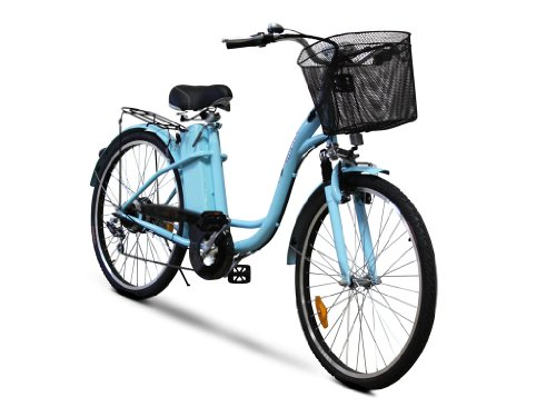 EWheels - Electric Bicycle - EW-620LA - Blue