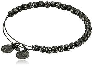 "Alex and Ani Bangle Bar ""Euphrates"" Hematite-Color Expandable Bracelet"