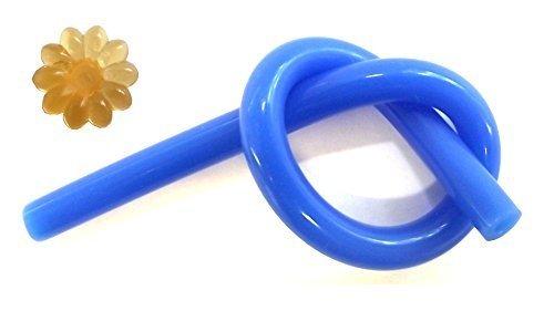 A LEGO pneumatic hose with 4mm diameter (blue, 11.2 cm) (Lego Hose compare prices)