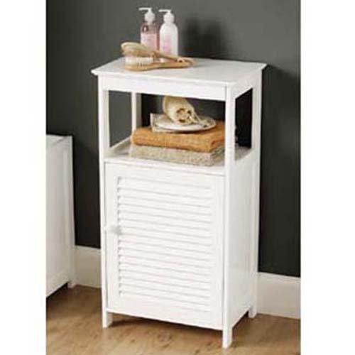 badm bel test shutter badschrank badregal weiss. Black Bedroom Furniture Sets. Home Design Ideas
