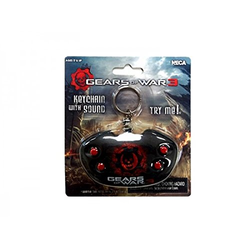 Neca - Porte Clé Sonore Gear Of War 3 - 0634482522066