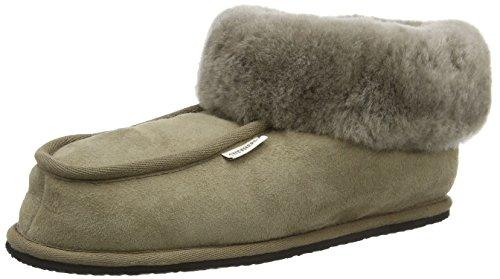 Shepherd - Krister, Pantofole da uomo, beige (stone), 43