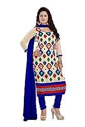 Parinaaz Fashion Chiku Chandari Straight unstitched salwar suit