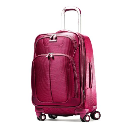 Samsonite Luggage Hyperspace Spinner 30.5 Expandable Suitcase, Ion Pink, One Size/31″ best seller