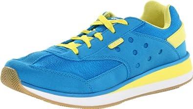 crocs Men's 14240 Retro M Sneaker,Ocean/Burst,9.5 M US