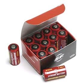 12-Pack Surefire SF12-BB Box of 12 123A 3 Volt Lithium Batteries SF123A