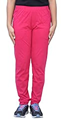 Romano Women's Pink Regular Fit Track Pant