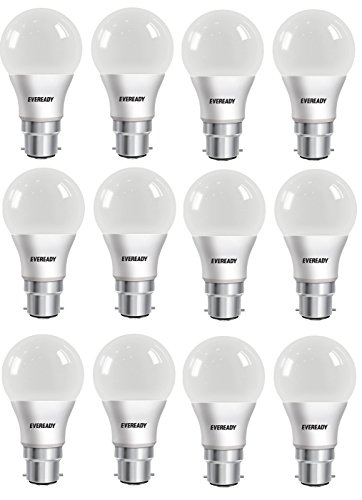 Eveready-8W-B22D-LED-Bulb-(Cool-Day-Light,-Pack-of-12)