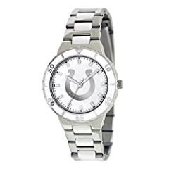 INDIANPOLIS COLTS MOTHER OF PEARL LADIES WATCH BY GAMETIME by Game Time
