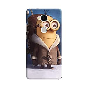 Aurmen High Quality Printed Designer Back Case Cover For Huawei Honor 5x (Minion18)