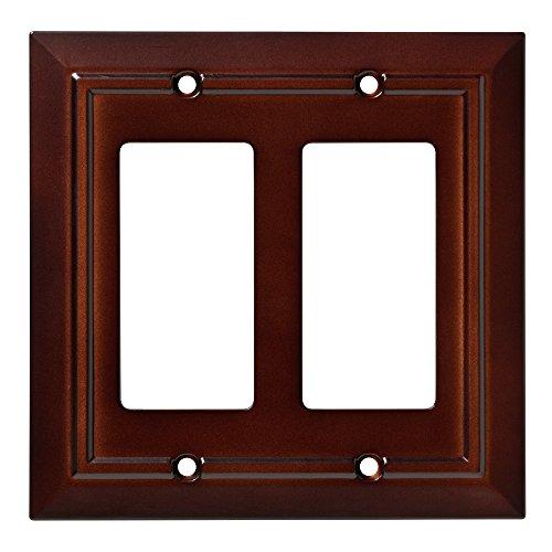 Franklin Brass W35248-ESO-C Classic Architecture Double Decorator Wall Plate/Switch Plate/Cover, Espresso (Espresso Wall Plate compare prices)