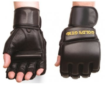 Golds Gym GG-B22280 Fingerless Grappling Gloves - Medium/Large by Golds Gym