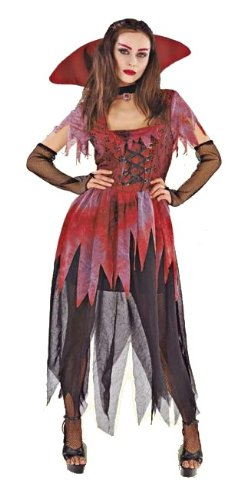 RIO - 151204/4446 - Déguisement - COSTUME ADULTE FEMME VAMPIRE TAILLE 44-46