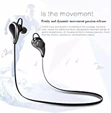 buy Bluetooth Headsets:Bluetooth 4.0 Noise Cancelling Wireless Stereo Sport Headset Headphones For Apple Iphone 6S/6S+/6/6+, Iphone 5S/5, Samsung Galaxy, Lg, Pc Laptop, And Other Bluetooth Device