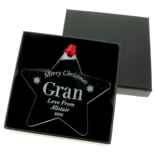 Engraved christmas bauble: Gran, Grandma, Nana, Special christmas keepsake gift for gran, grandma, nana, personalised...