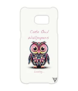 Vogueshell Cute Olw Printed Symmetry PRO Series Hard Back Case for Samsung s7 Edge