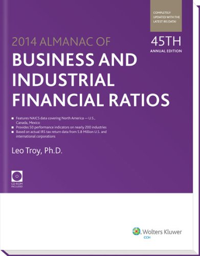 Almanac of Business & Industrial Financial Ratios (2014) (Almanac of Business & Industrial Financial Ratios (W/CD))