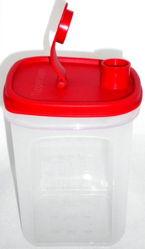 Tupperware © Mess & Go 1,0 l Rot