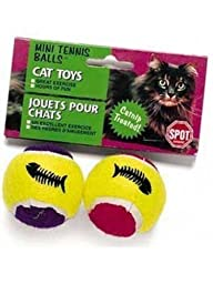 Ethical Mini Tennis Balls and Catnip Cat Toy