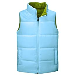 Product Image Merona® Reversible Puffer Vest - Blue/Green