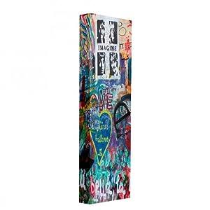Schuhschrank love mit graffiti motiv drehschrank for Drehschrank kuche