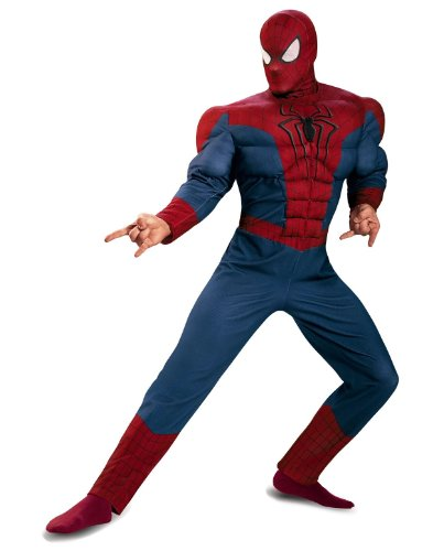 The Amazing Spider-Man Movie 2 Adult Muscle Costume Size:XXL (50-52)