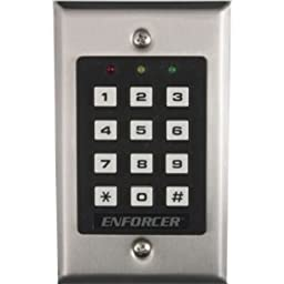 SK-1011-SQ Seco-Larm Indoor Stand-Alone Keypad w/ 100 Users