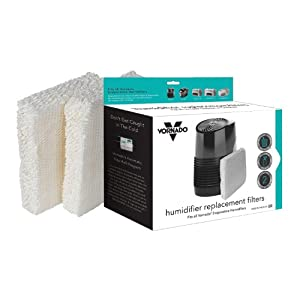 Vornado MD1-0002 Replacement Humidifier Wick Filters (2-Pack)