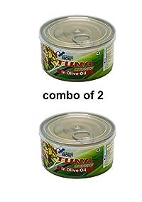 oceans secret tun in olive oil combo of 2(180g each)