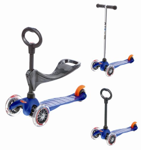 Micro Mini 3-in-1 Kick Scooter, Blue
