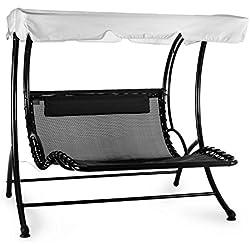 hammock chair - shopgogo - Bel Divano In Pelle Posteriore Con Sedili Imbottiti Armi