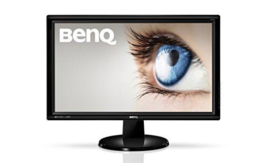 """Benq  GW2455H Monitor VA, Display da 23,6"""" Full-HD, VGA + DVI + HDMI, Angolo di Visuale 178°/178°, Nero"""