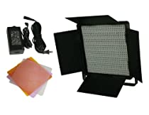 600 LED Video Lite Panel Studio Photography Lighting Sony V Mount, Dimmer Switch, 15V Output CN600SA