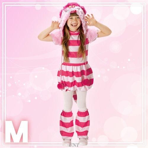 ディズニー ふしぎの国のアリス モコモコ チェシャ猫 キッズコスチューム 女の子 120cm-140cm 95331M