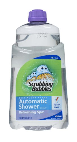 Scrubbing Bubbles Auto Shower Cleaner, Refreshing Spa Refills (Pack of 6)