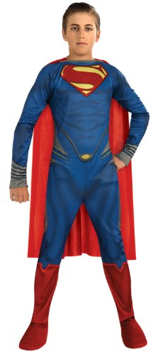 Rubies Man of Steel Superman Kids Costume - Medium