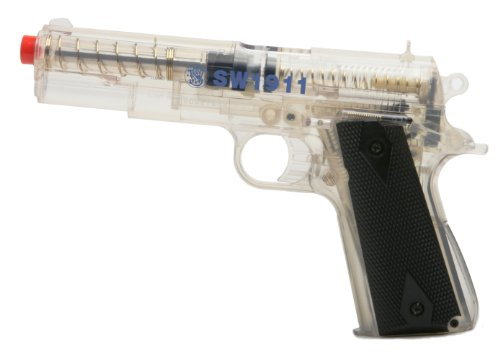 SoftAir Smith & Wesson 1911 Spring Powered Airsoft Pistol (Clear)