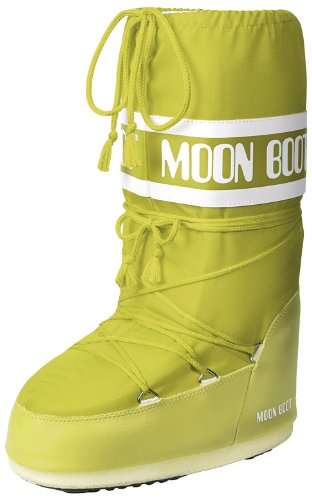 TecnicaMOON BOOT NYLON BLU - Scarpe Sportive Outdoor Unisex - Adulto , (Grün (Lime 070)), 39-41