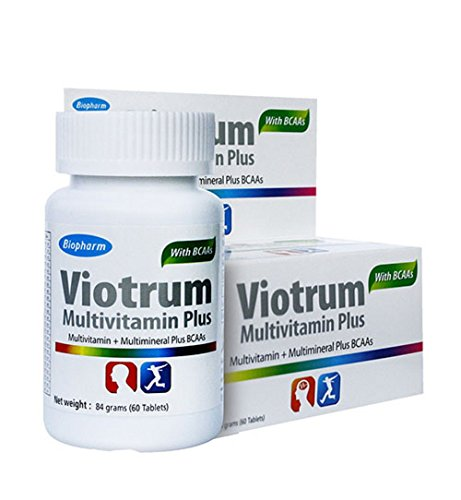 Biopharm Viotrum Multivitamin Plus Bcaas 60 Tablets.