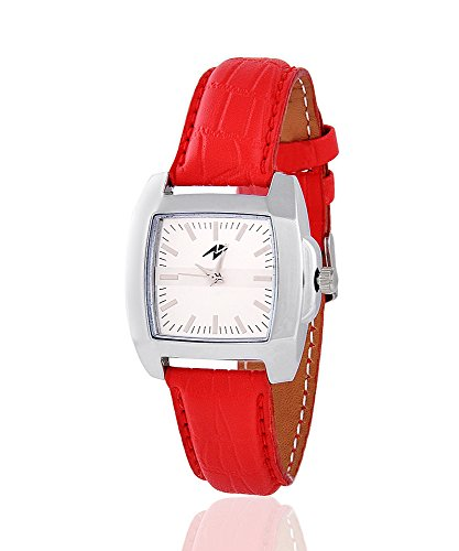 Yepme Kayra Women's Watch - White\/Red (multicolor)