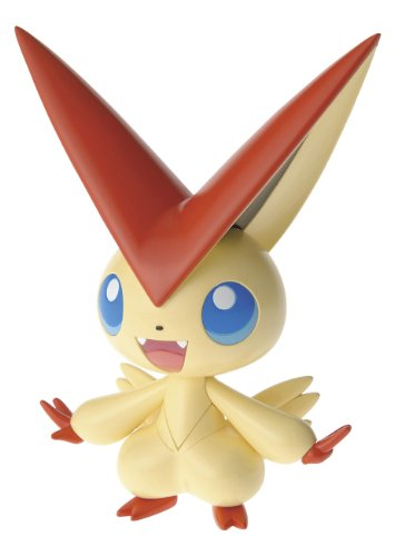 Pokemon Pura Collection #20 Bikutini (Victini) Plastic Kit Figure