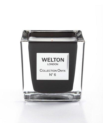 WELTON LONDON ウェルトンロンドン ONYX COLLECTION フレグランスキャンドル 150g NO.6