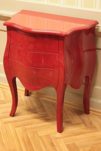 retro chest of drawers red laquere chest of drawers online